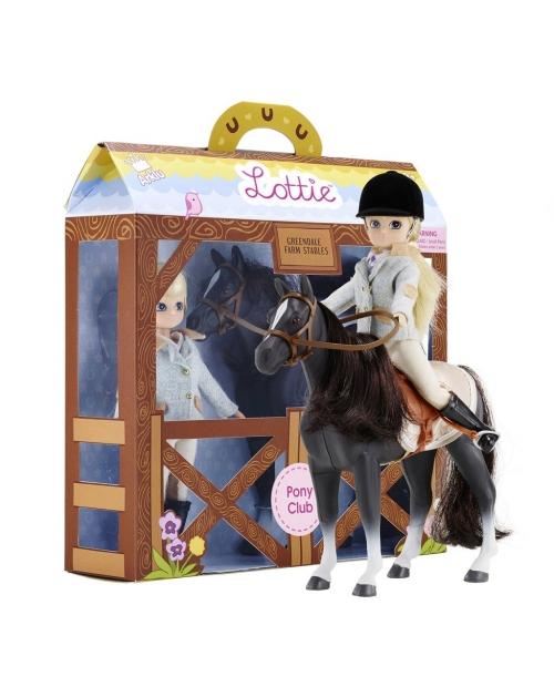 Lottie lėlė su poniu