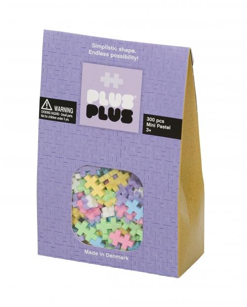 Plus Plus konstruktorius Mini Pastelinės 300
