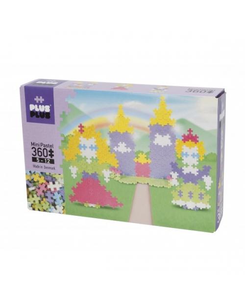 Plus Plus konstruktorius, Princesės pilis, Mini pastelinės 360