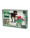 Plus Plus konstruktorius, Dinozaurai, Mini bazinės 480
