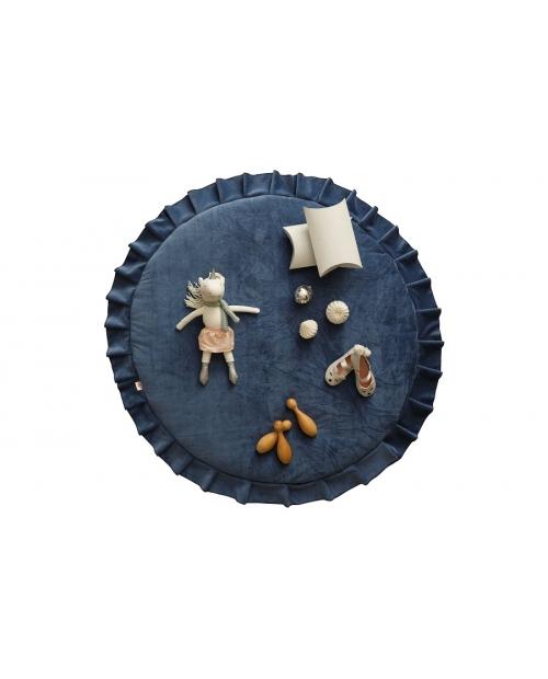 Žaidimų kilimėlis VELVET DEEP BLUE