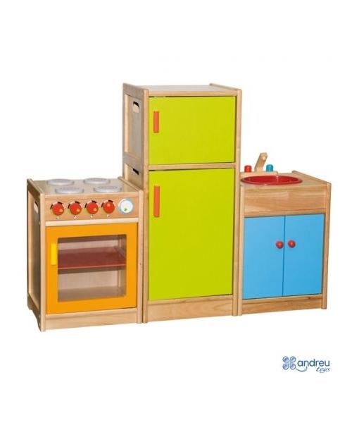 Medinė virtuvės kriauklė