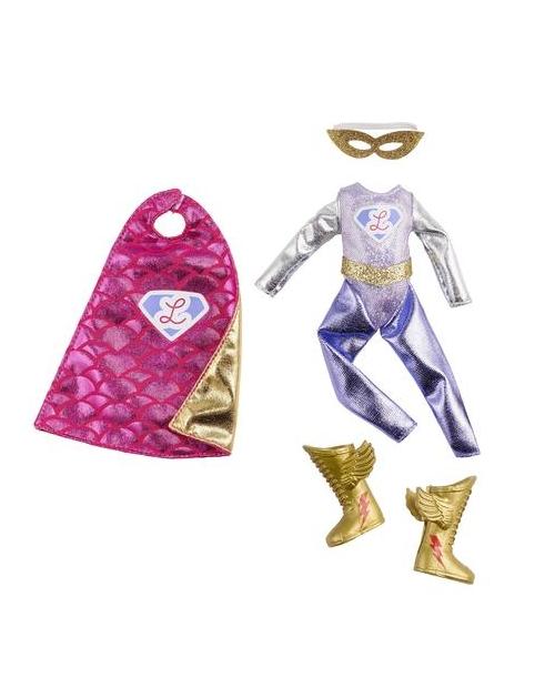 Lottie aksesuarų rinkinys - Super herojės kostiumas