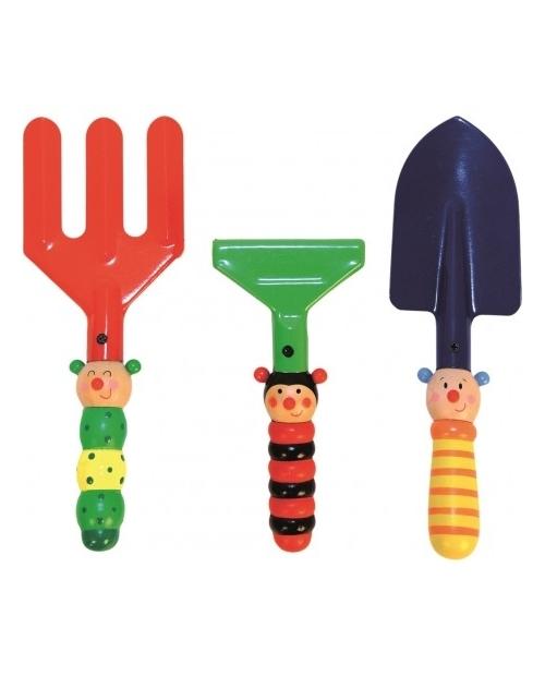Vaikams skirti sodo - smėlio įrankiai 3vnt