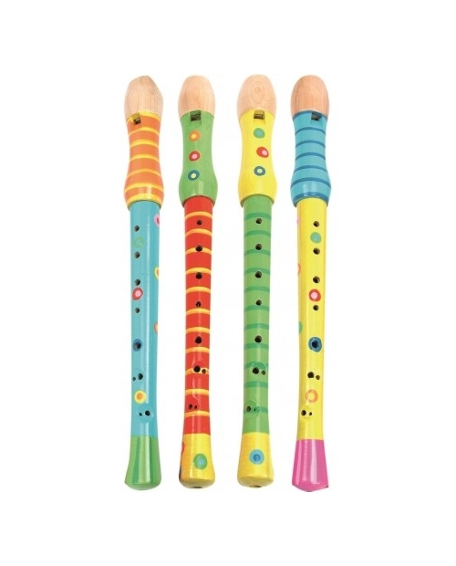 Muzikinis instrumentas - medinė fleita vaikams