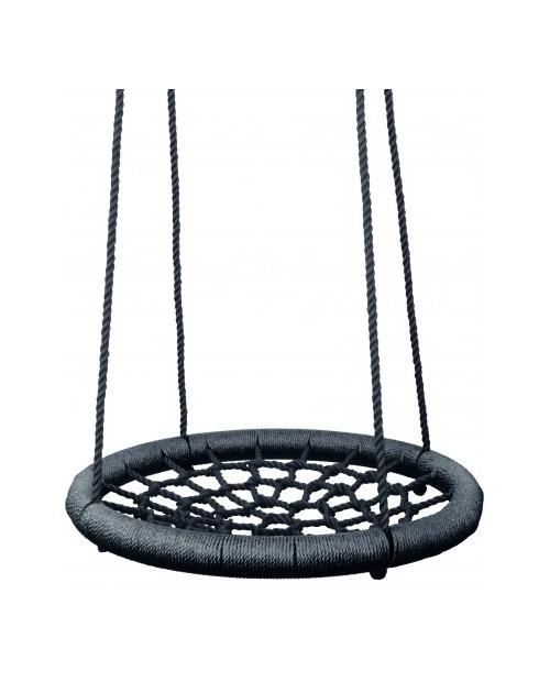 Apvalios supuoklės su tinkleliu (juodos spalvos)