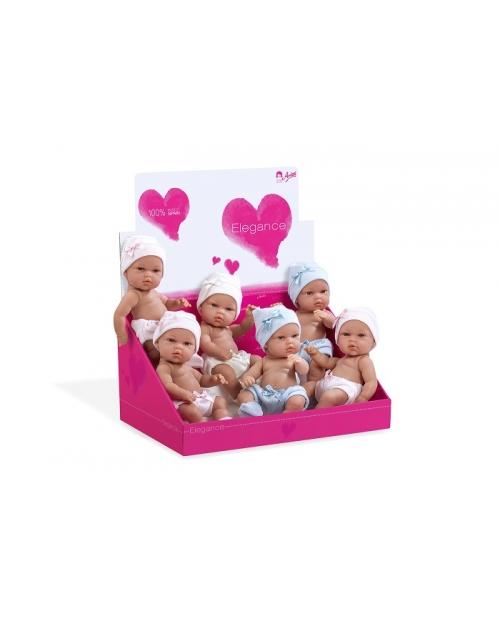 Lėlytės - kūdikėliai su kepurėlėmis, 33 cm