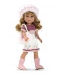 Lėlytė Šarlotė su rankine, 36 cm