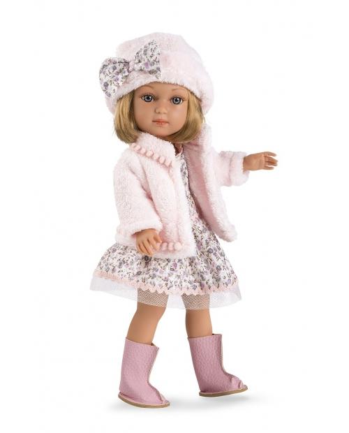 Lėlytė Šarlotė su stilinga suknele ir švarkeliu, 36 cm