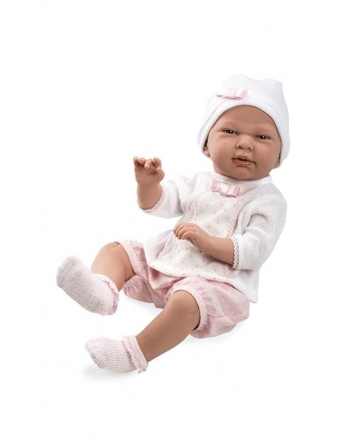 Kūdikėlis su trumpomis rožinėmis kelnaitėmis, 52 cm