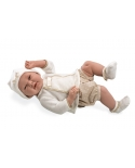 Kūdikėlis su trumpomis rusvomis kelnaitėmis, 52 cm