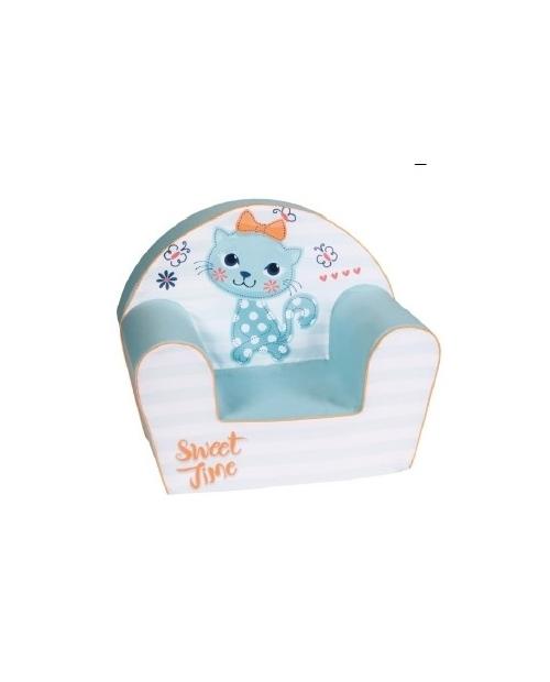 Minkštas foteliukas - Katytė princesė