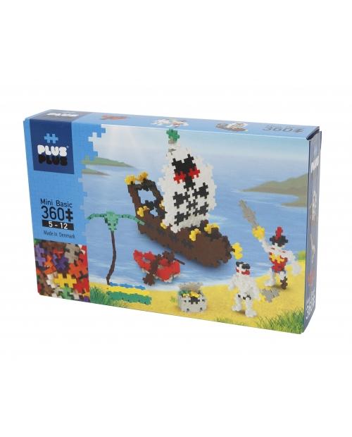 Plus Plus konstruktorius, Piratai, Mini bazinės 360