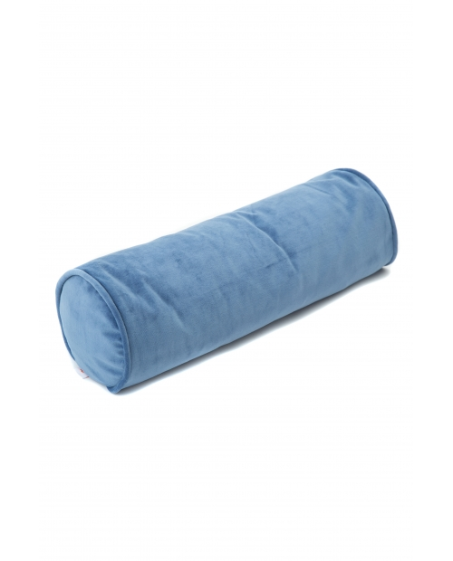 Ruloninė pagalvėlė (mėlyna) Roll velvet deep blue
