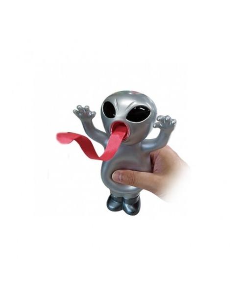 """Interaktyvus žaisliukas """"Silly Alien"""" sidabrinis ateivis"""