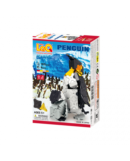 """""""LaQ Marine World PENGUIN"""" – pingvinų pasaulis viename rinkinyje"""
