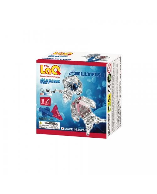 "LaQ Marine World ""Mini Jellyfish"" konstruktorius su skaidriomis detalėmis"