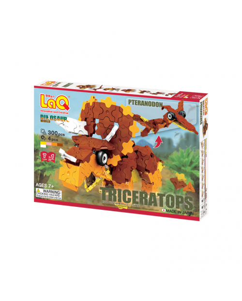 "LaQ ""Dinosaur World ""Triceratops & Pteranodon"" Konstruktorių rinkinys"