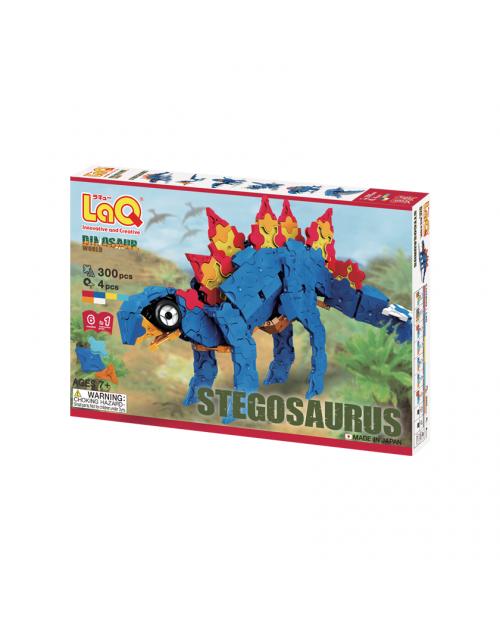 """LaQ """"Dinosaur World """"Stegosaurus"""" išskirtiniame 6 konstruktorių rinkinyje"""