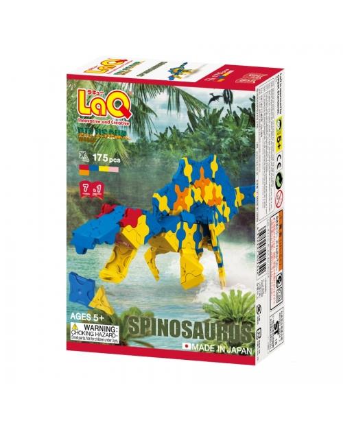 """LaQ Dinosaur World """"Spinosaurus"""" išskirtiniame 7 konstruktorių rinkinyje"""