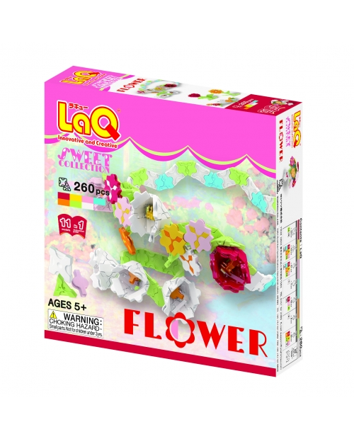 "LaQ ""Sweet Collection ""Flower"" konstruktorių rinkinys"