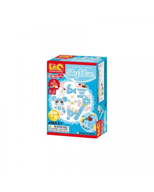 """LaQ Sweet Collection """"Mini Sky Blue"""" konstruktorių rinkinys - pirmiesiems konstravimo džiaugsmams!"""