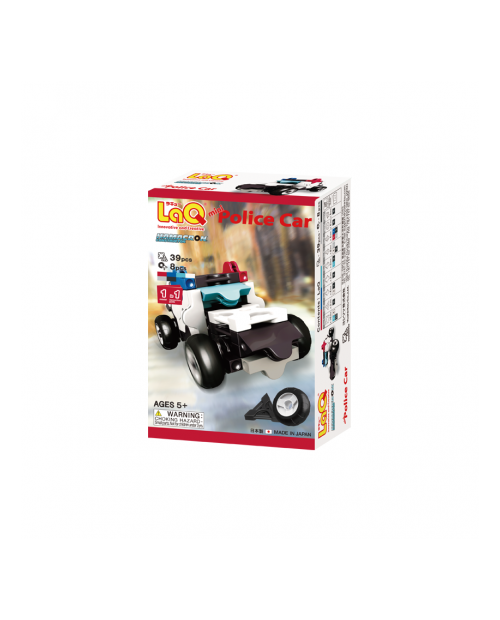 "LaQ ""Hamacron Constructor ""Mini Police Car"" konstruktorius"