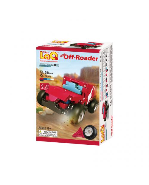 "LaQ ""Hamacron Constructor ""Mini Off-Roader"" konstruktorius"