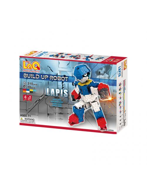 """LaQ """"Build Up Robot """"Lapis"""" konstruktorių rinkinys"""