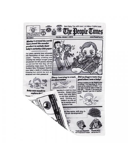 """Neplyštantis """"Brain Builders"""" laikraštis """"KŪDIKIŲ ŽINIOS"""" 4mėn+"""