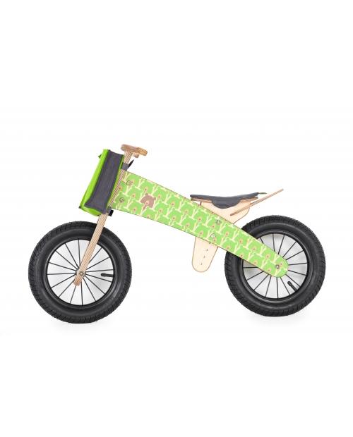 """Balansinis dviratis """"GREEN BEARS"""", nuo 3 m."""