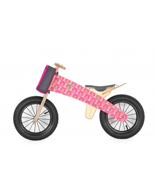"""Balansinis dviratis """"PINK BEARS"""", nuo 3 m."""
