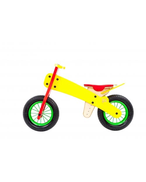 """Balansinis dviratis """"YELLOW SPRING"""", nuo 3 m."""