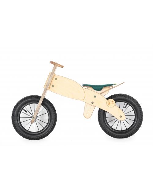 "Balansinis dviratis ""GREEN"" MOTOCIKLAS, nuo 3 m."