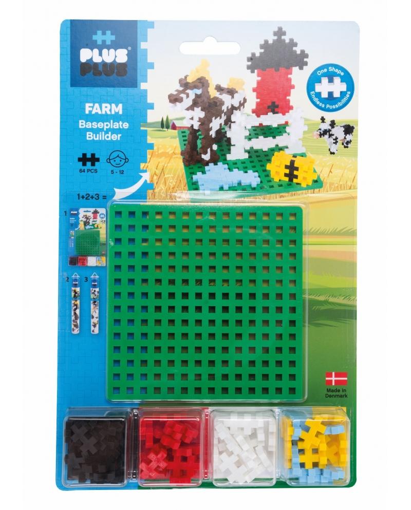 Plus Plus konstruktorius ŪKIS + pagrindas