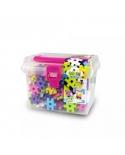"""Meli konstruktorius plastikinėje dėžutėje """"Basic Pink"""""""