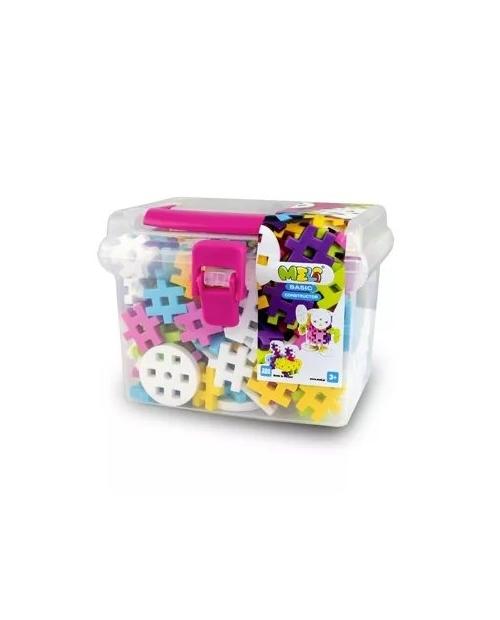 "Meli Konstruktorius ""Pink travel box 250"""