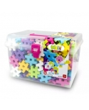 """Meli konstruktoius plastikinėje dėžutėje """"Maxi Pink 230"""""""